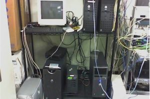 photo of closet server